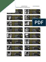 Lista de Deportistas Ecuatorianos en j.j.o.o. Londres 2012