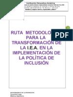 16 Propuesta de Educacion Inclusiva Ruta Metodologica Para Implementar El Indice de Inclusion