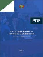 Tomo I. En los umbrales de la Asamblea Constituyente (Volumen 2)
