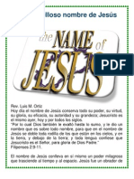 El maravilloso nombre de Jesús