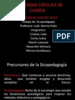 Precursores de la Sicopedagogía