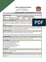 Planeacion Bloque i Artesvisuales i _ 2012-2013