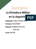 TP.dictaduraMilitar Rodriguez,Baez