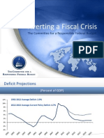 Averting a Fiscal Crisis 0 0