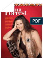 Ana Forrest - Yoga Magazine interview May 2012