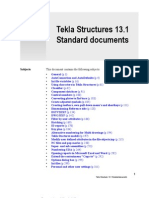 Tekla - Standard Documents