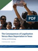 Deportation vs. Legalization in Texas