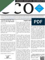 ECO - Bangkok Climate Negotiations - August 30 2012