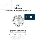 Colorado Workers Compensation Act