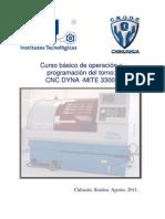 MANUAL TORNO CNC DYNA ADM 3300 Español
