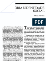 POLLAK. Memória e identidade social