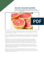 Beneficios de Consumir Pomelo