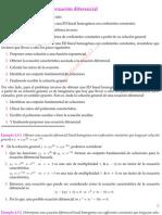 Obtención de una ecuación diferencial