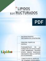 LIPIDOS ESTRUCTURADOS- Exposición