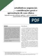 Aparelhos ortodônticos sequenciais