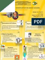 Poster Aprendizaje Significativo