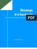 - Metodologia de La Investigacion Clinica Rosa Jimenez Paneque[1]