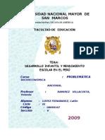 desarrolloinfantilyrendimientoescolarenelperu-100126123936-phpapp01