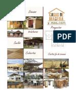 Catalogo Casa de Madera y Estructura Metalica