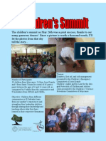 Children's Summit Final Report