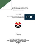Analisis Performance Engine Tipe g