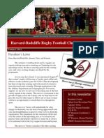 HRRFC Newsletter - Summer 2012