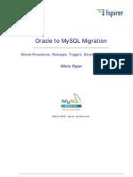Sqlways Oracle to Mysql Whitepaper