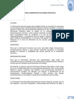 Características cualitativas de los estados financieros