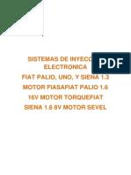Sistemas de Inyeccion Electronica