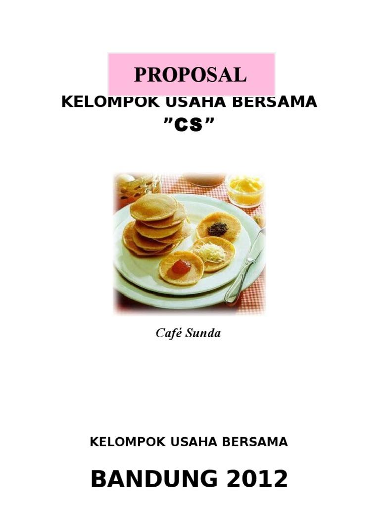 Proposal Makanan Khas Daerah Guru Paud