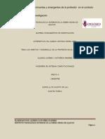 Practicas Predomiantes y Emergentes de La Profesion en El Contexto Social