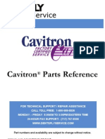 Cavitron Parts Reference