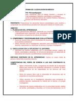 PROGRAMA PANORAMA DE LA EDUCACIÓN EN MÉXICO