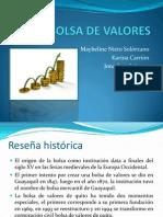 BOLSA DE VALORES GUAYAQUIL