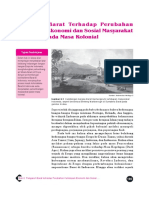6. Pengaruh Barat Terhadap Perubahan Kehidupan Ekonomi Dan Sosial Masyarakat Indonesia Pada Masa Kolonial