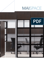 MAISPACE Office Cubicles Frame and Tile System