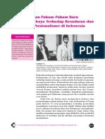 7. Pengaruh Paham-Paham Baru Dan Pengeruhnya Terhadap Kesadaran Dan Pergerakan Nasionalisme Di Indonesia