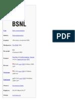 BSNL Wiki