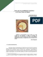 Badia Herrera, Josefa Indagación sobre las posibilidades dramática del Gran Teatro del Mundo (2003)