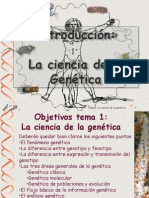 introduccion ala genetica