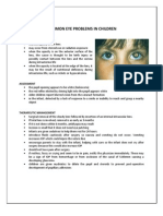 Common Eye Problems in Children