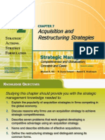 Acquisition and Restructuring Strategies