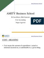 Intro Cost Acc