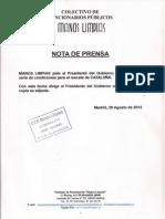 ESCRITO AL PRESIDENTE DEL GOBIERNO-RESCATE CATALUÑA