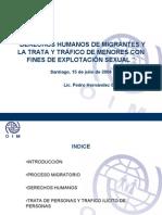 Migrantes Trafico Personas Oim