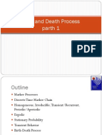 Birth and Death Process