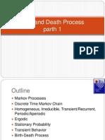 Birth and Death Process