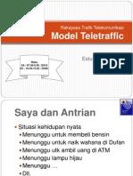 Pertemuann9.Model Teletraffic