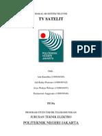 Cover Makalah Tv Satelit