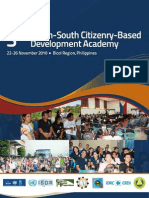 3rd SS Citizenry Based Devt Academy Proceedings